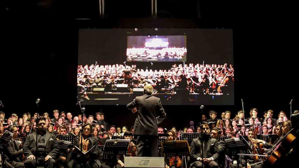 Coro y orquesta
