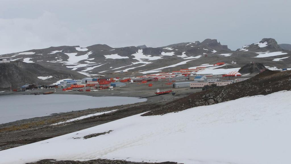 Research center in the Antarctic