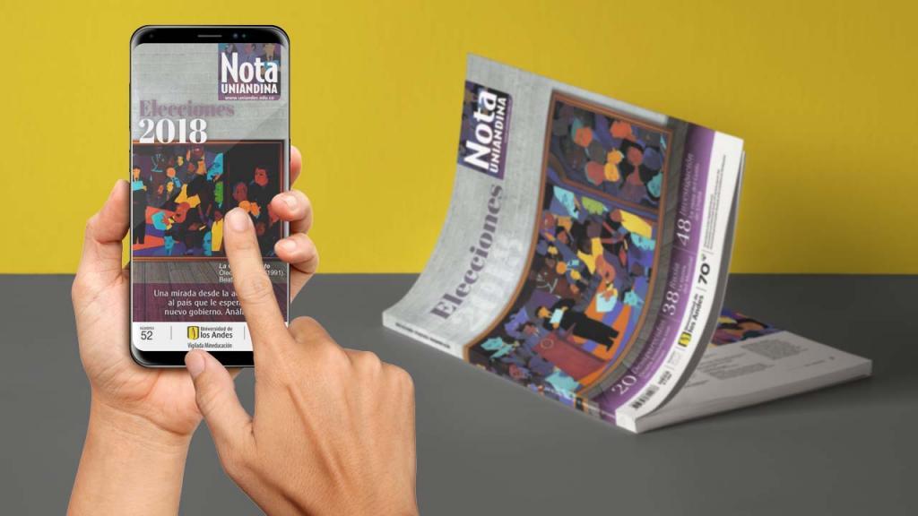 Imagen de revista Nota Uniandina en app