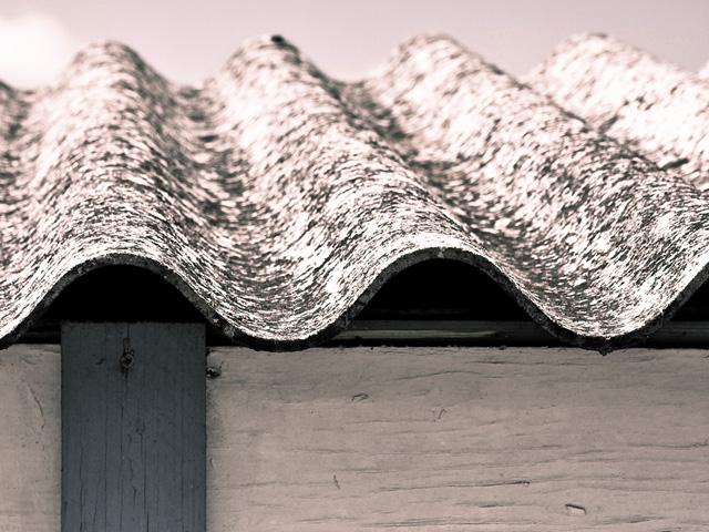 Asbastos roof