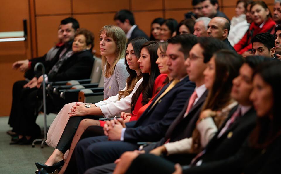 Foto asistentes en auditorio
