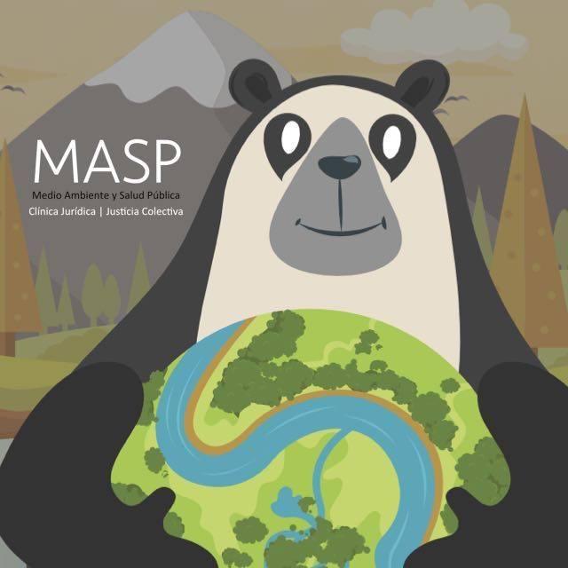 Dibujo representativo de la Clínica MASP