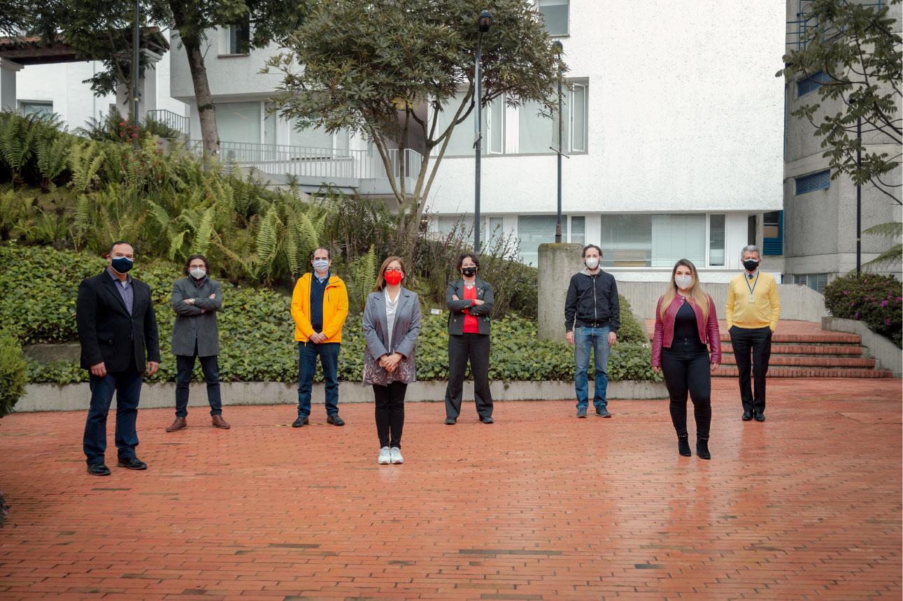 Foto del equipo de Comunidad Segura Uniandes.