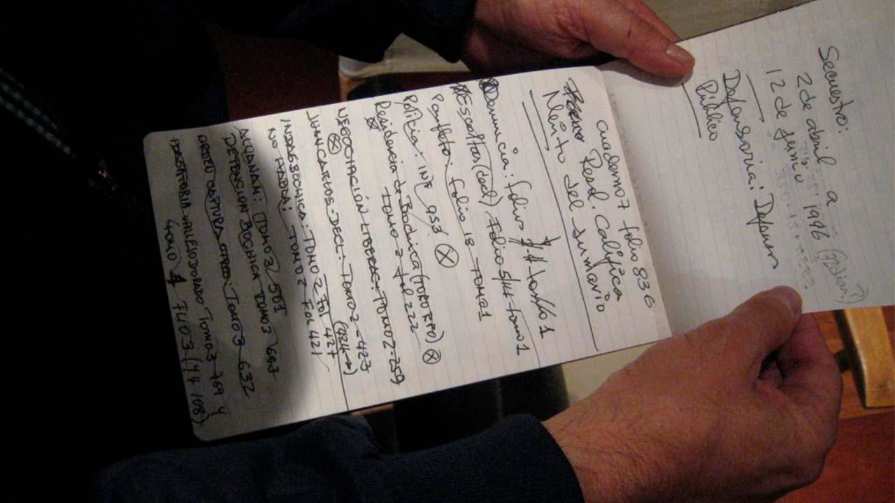 Manuscritos de Germán Castro Caycedo