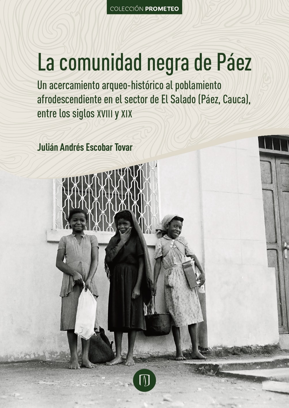 Portada del libro La comunidad negra de Páez