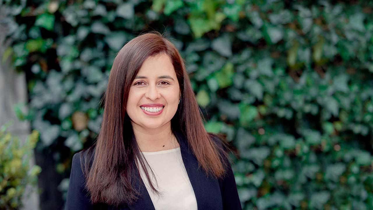 Foto de Maribel Rincón, directora de Servicios Administrativos.