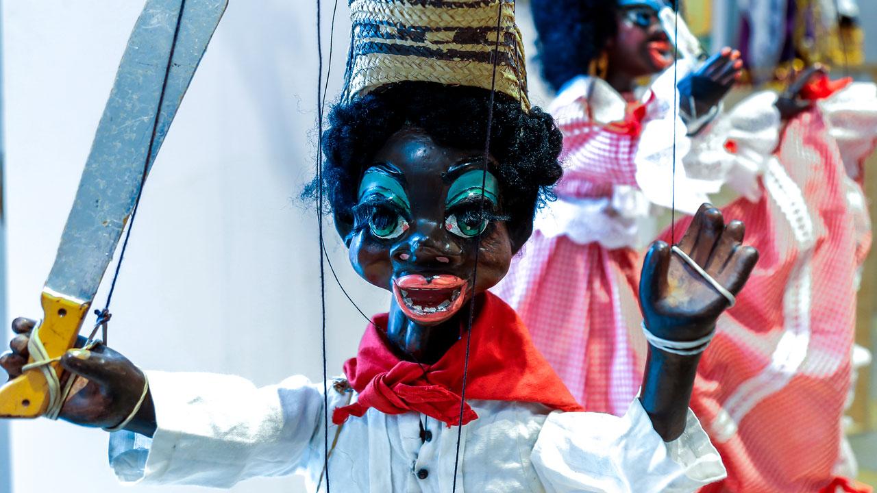Colección de marionetas de Jaime Manzur