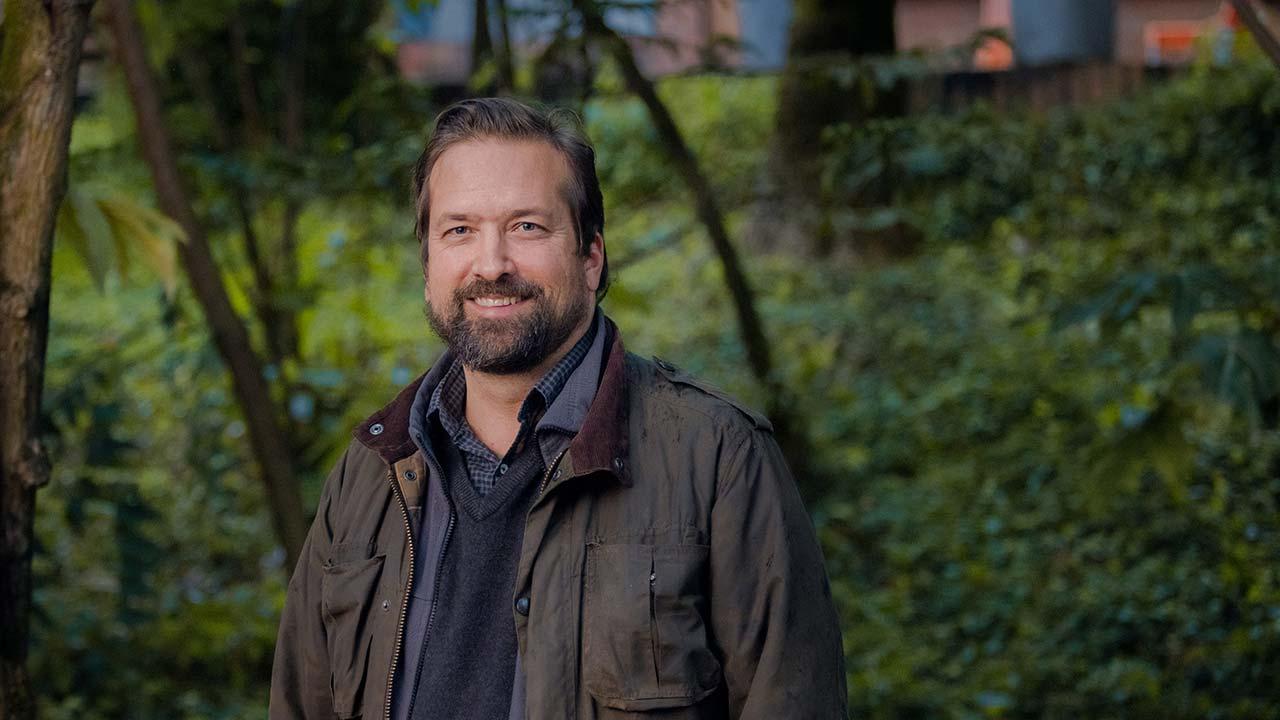 Foto de Jorge Baxter, director de Investigaciones de la Facultad de Educación.