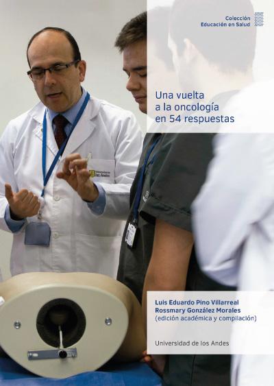 Portada del libro Una vuelta a la oncología en 54 respuestas