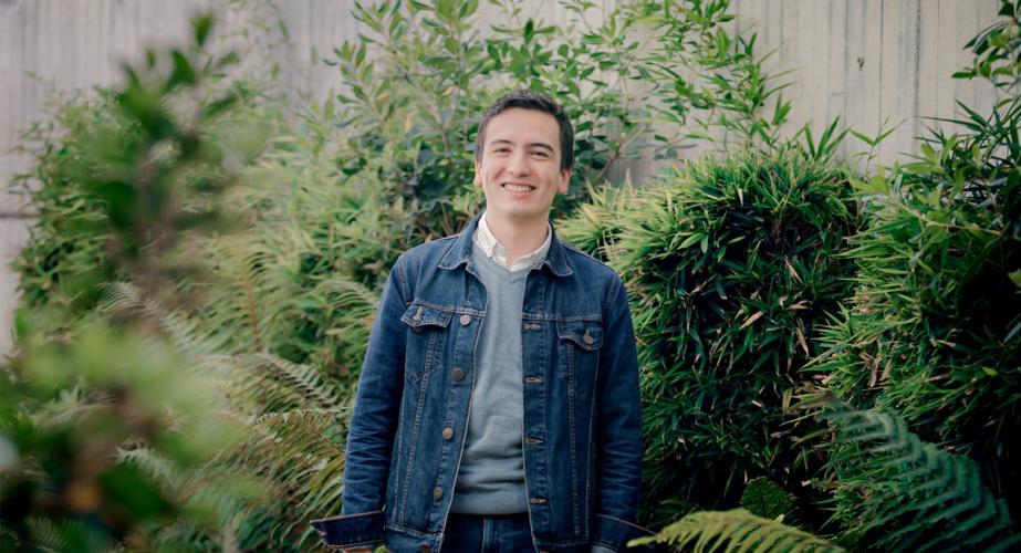 Pedro Oswaldo Hernández Becario Fundación Obama