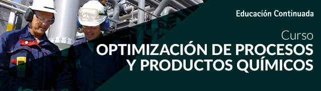 Optimice procesos en la industria química