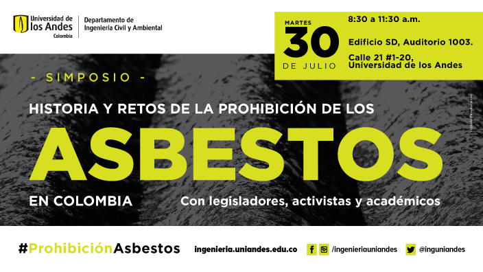 prohibición de los asbestos