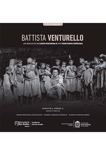 Cubierta del libro Battista Venturello. Las huellas de un largo peregrinaje por territorios indígenas