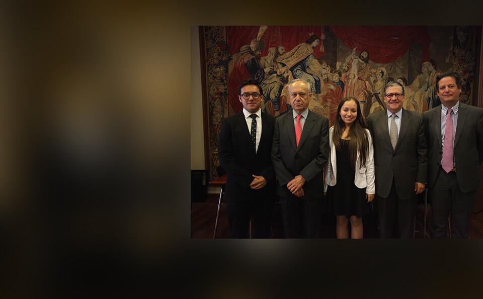 Pablo Navas rector de los Andes