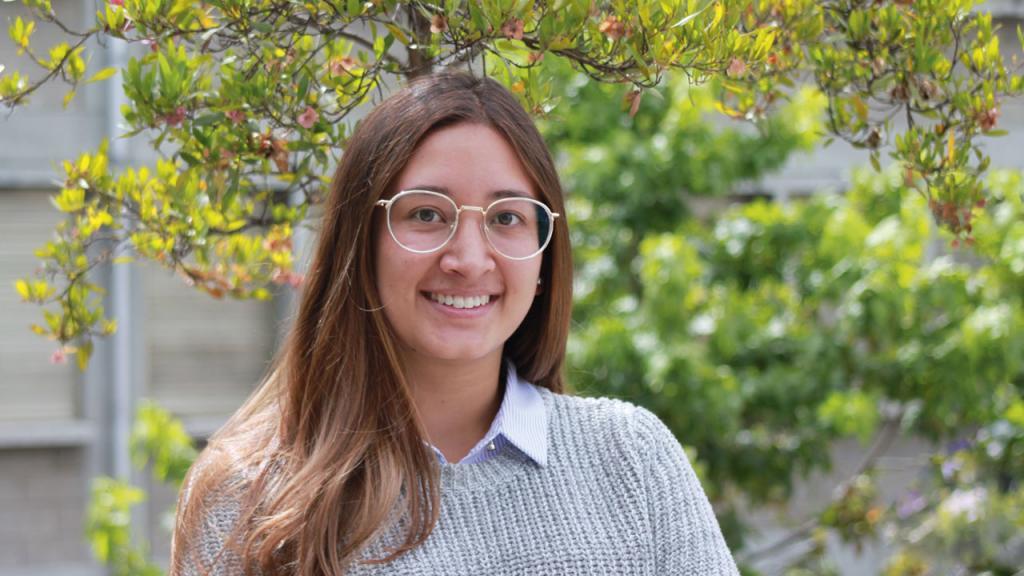 María Alejandra Vargas, estudiante de Gobierno y Asuntos Públicos