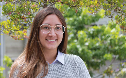 María Alejandra Vargas, Government and Public Affairs student