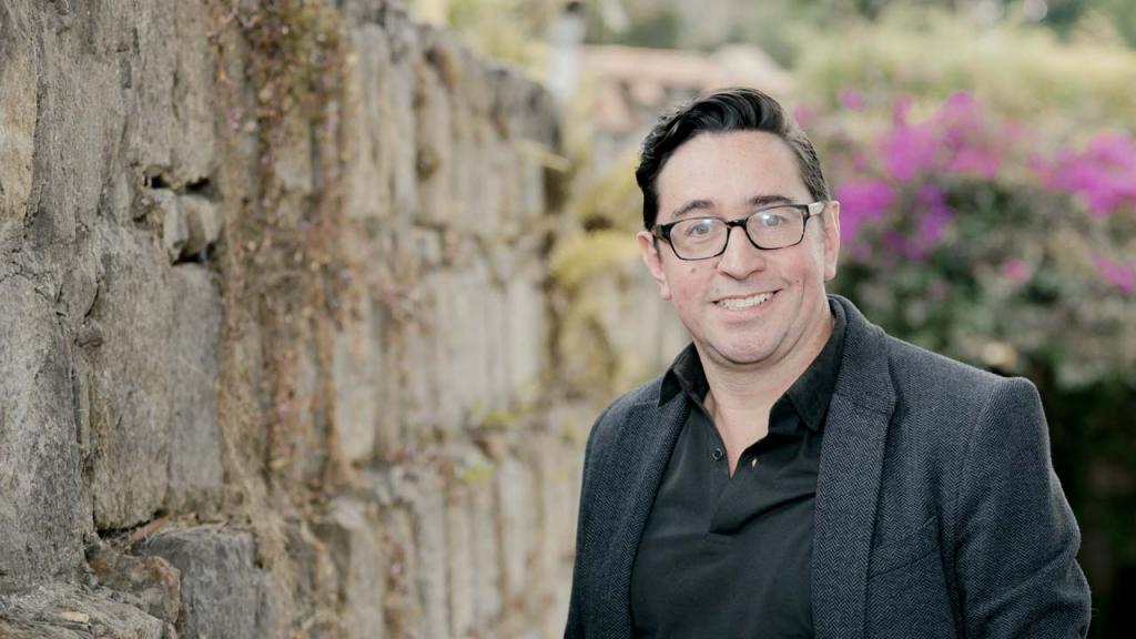 Foto del profesor de filosofía Santiago Amaya