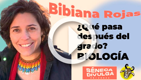 Bibiana Rojas en Séneca Divulga