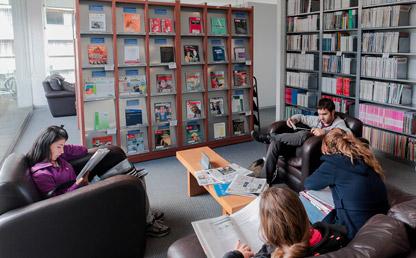 Imagen de la biblioteca de Administración de la Universidad de los Andes