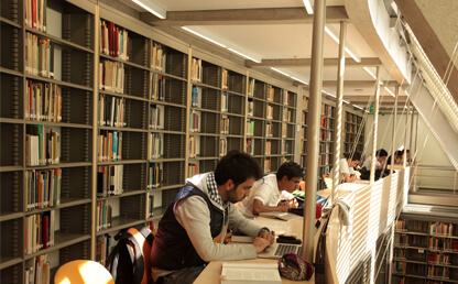 Library system: more than 500,000 books available