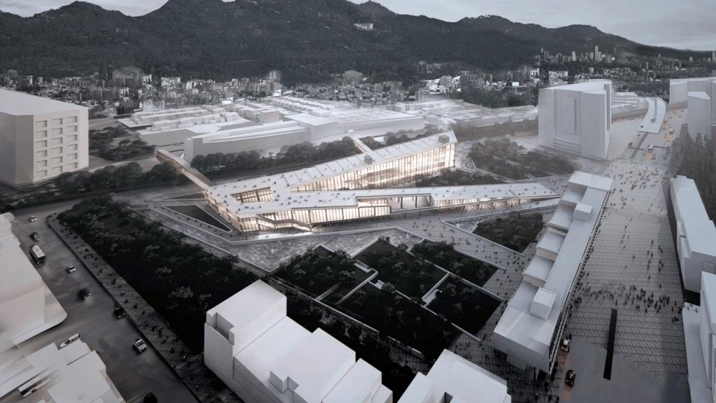 Proyecto Infraestructura como superficie del paisaje urbano
