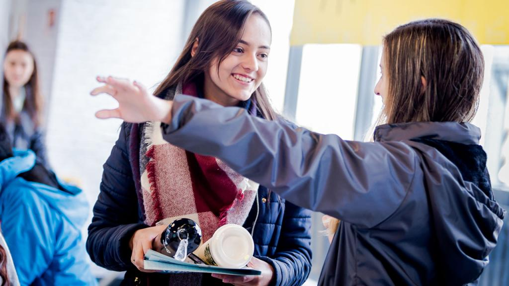 Los estudiantes siempre estarán acompañados de personal calificado.