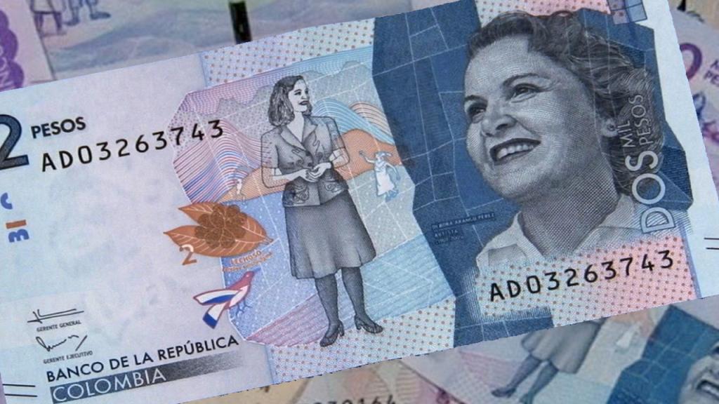 Billete de dos mil pesos