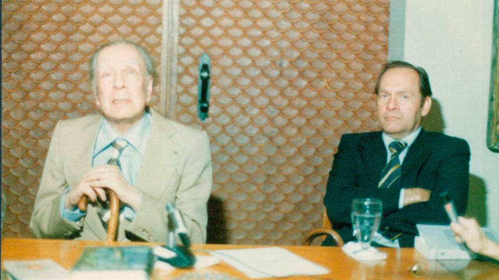Jorge Luis Borges y Ramón de Zubiría