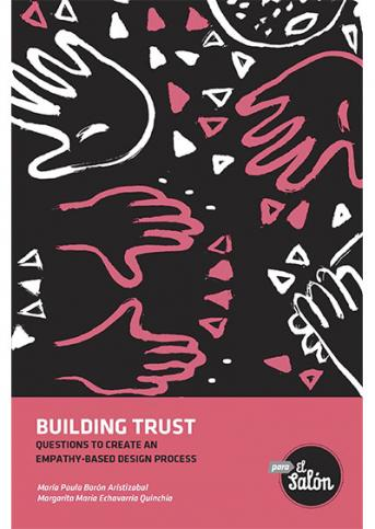 Cubierta del libro Building trust. Questions to create an empathy-based design process