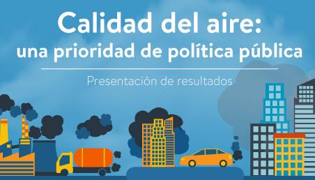 Ilustración sobre la contaminación del aire