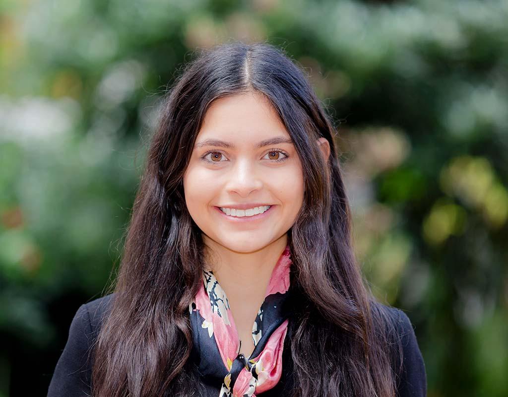 María Camila Marenco, graduada que recibió grado summa cum laude en ceremonia de grados 2018-2.