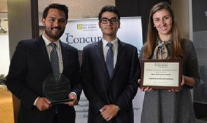 The Uniandes Team, winners of the 1st Company Law Competition