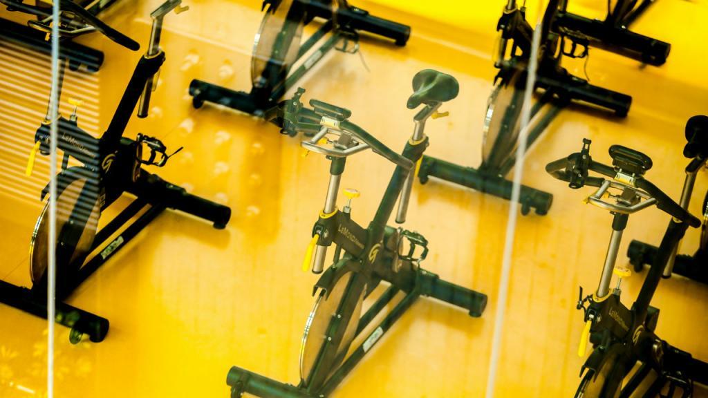 Imagen de bicicletas estáticas