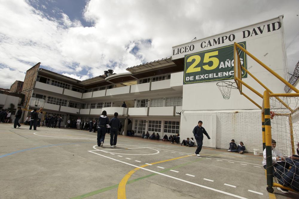 Liceo Campo David mejor icfes 2010