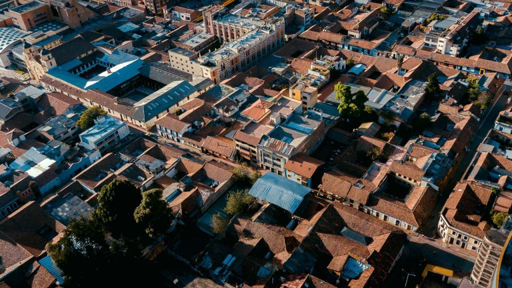 Panóramica del Barrio La Candelaria.