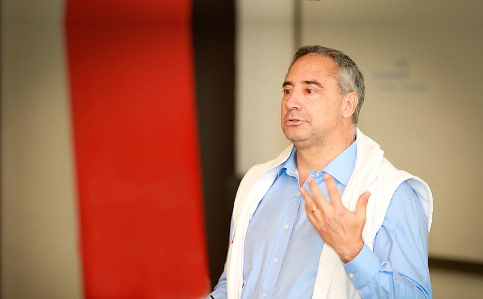 Carlos Cavelier, coordinador de sueños de La Alquería.
