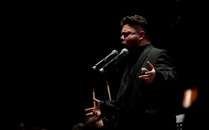 Intérprete del coro de Los Andes