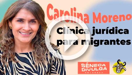 Carolina Moreno en Séneca Divulga