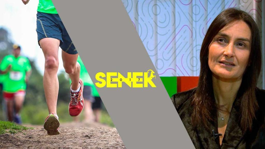 María Carolina Sánchez, maratonista y Directora de Comunicaciones y Relaciones Públicas de Microsoft Colombia, nos invitar a participar y apoyar la carrera Senek