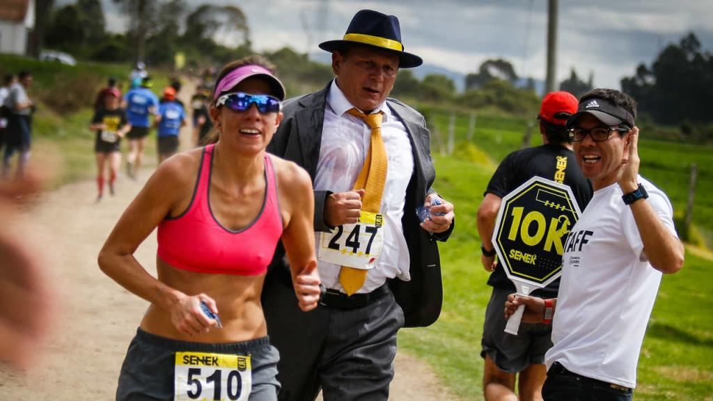 Corredores de distintas facultades y programas de Los Andes participaron de la carrera.