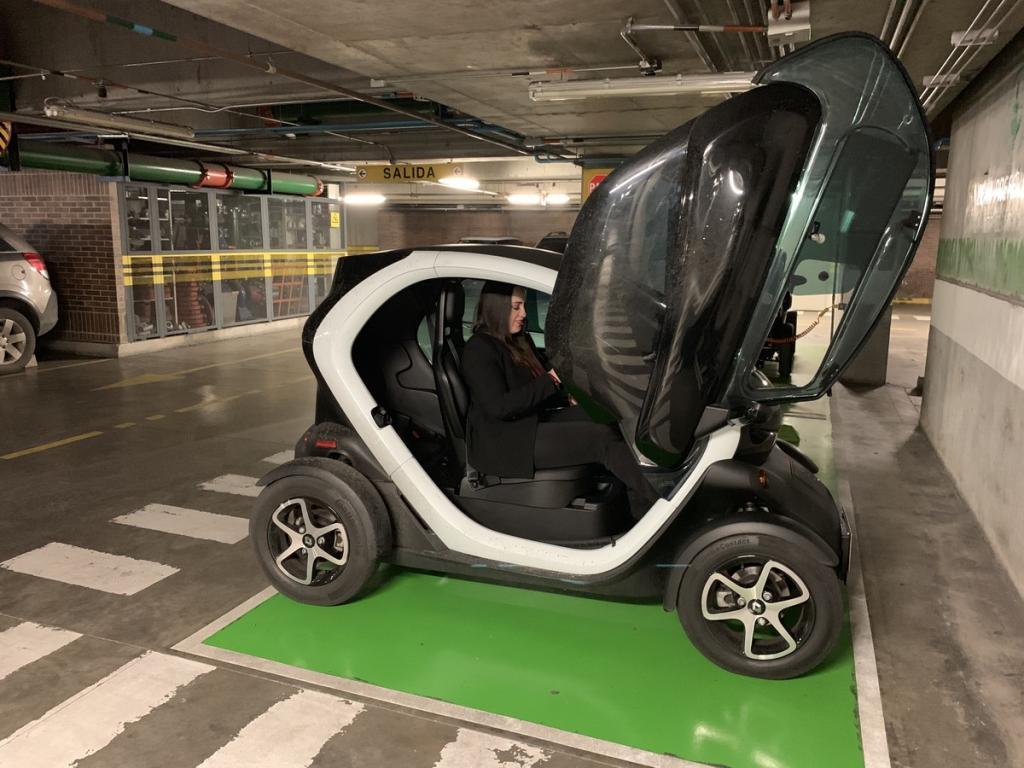 Foto del auto eléctrico