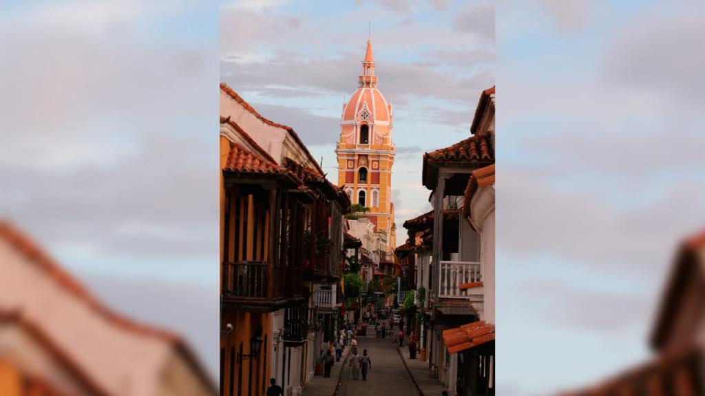 Centro histórico Cartagena serena del mar