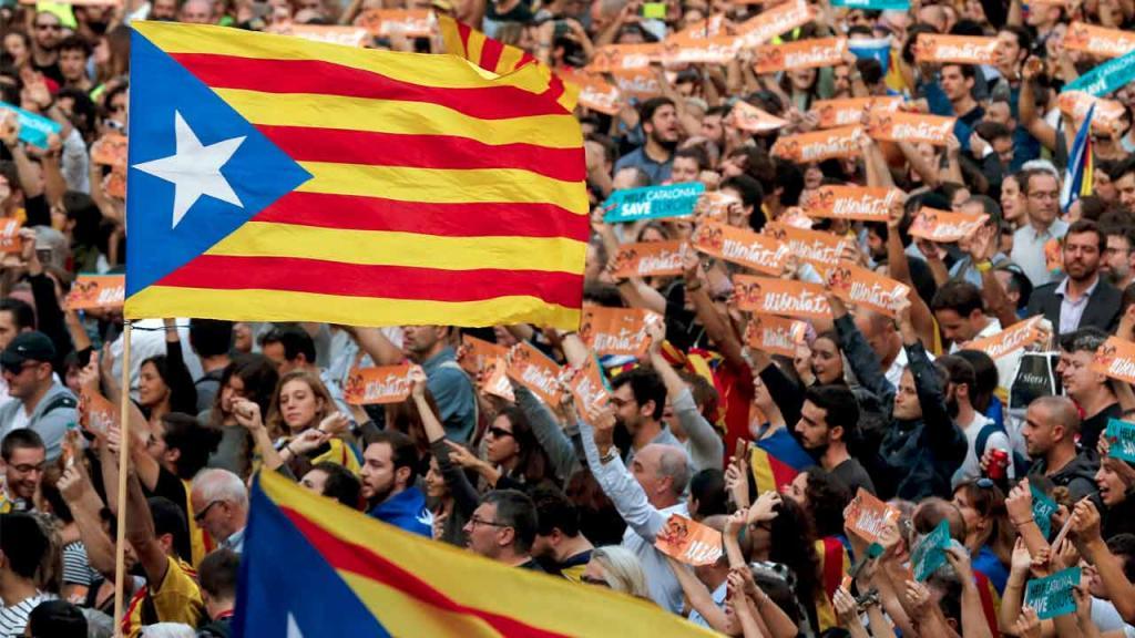Huelgas en Cataluña