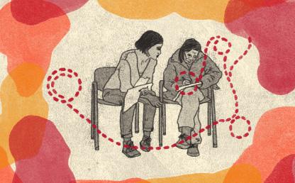 Ilustración sobre pedagogía y verdad en el postconflicto
