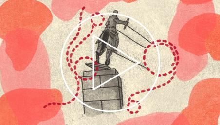Ilustración para la sesión Memoria y verdad en disputa