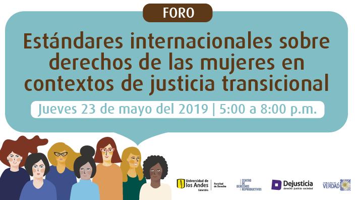 Mujeres y justicia transicional