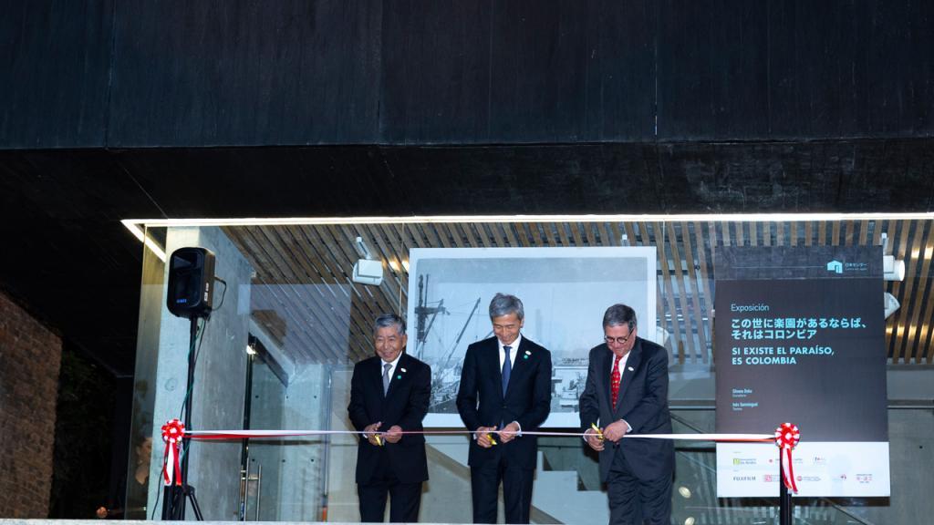 Corte de cinta del nuevo Centro de Japón