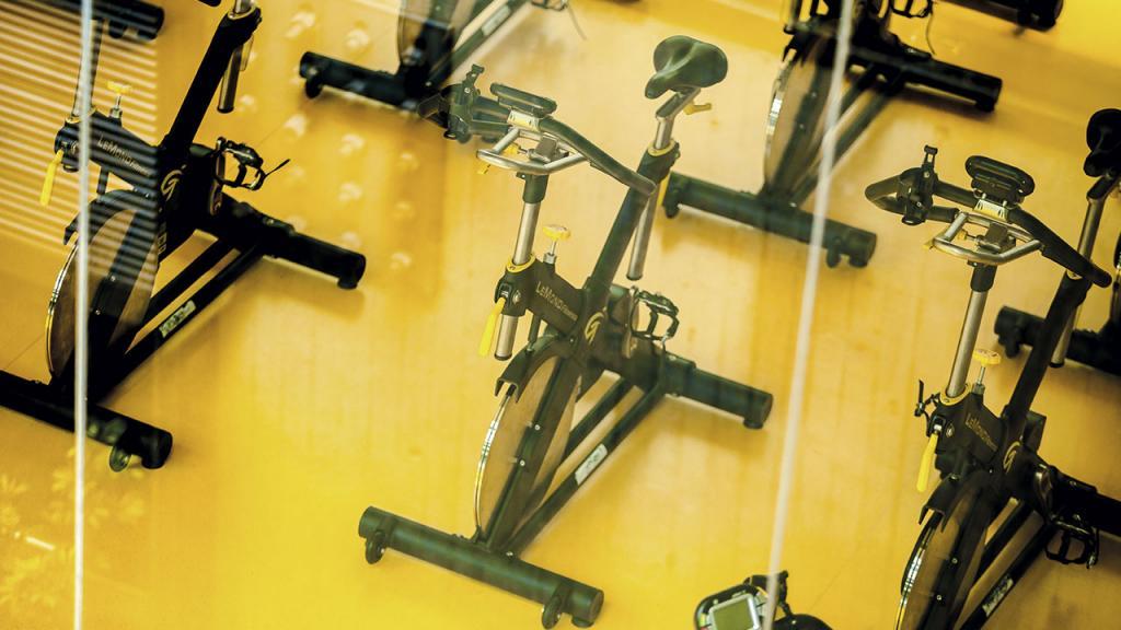 Instalaciones del gimnasio en el Centro Deportivo