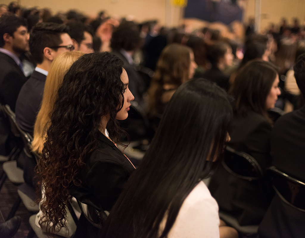 Público asistente a las ceremonias de grado