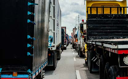 Foto de camiones